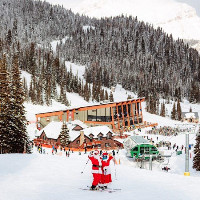 Santa on the Mountain on Where Rockies