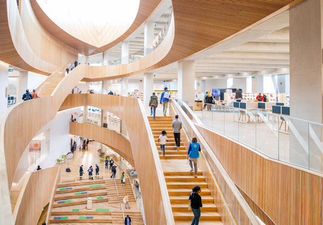 Check it out: Calgary's new Central Library Main Photo
