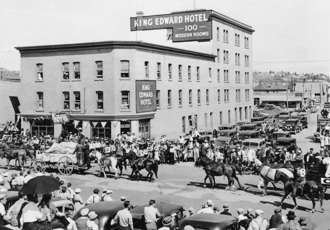 Historic King Eddy Returns to Calgary Music Mile Main Photo