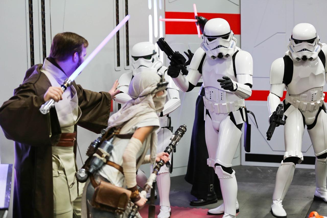 Star Wars Fan Battle at the Calgary Expo