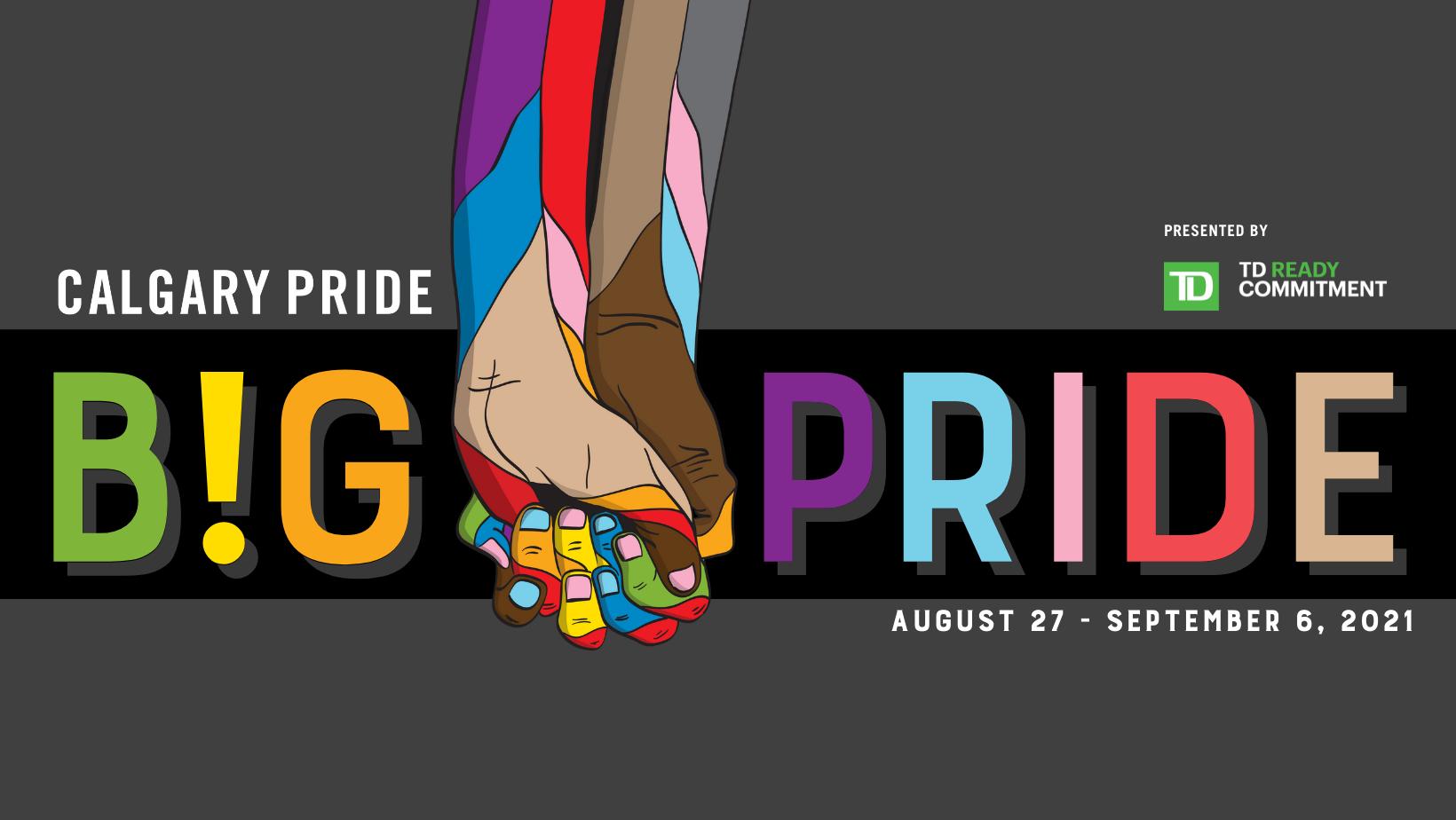 Calgary Pride B!G PRIDE Festival 2021 on Where Rockies